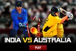 india vs australia game logo