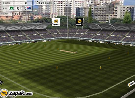 3d cricket playing field