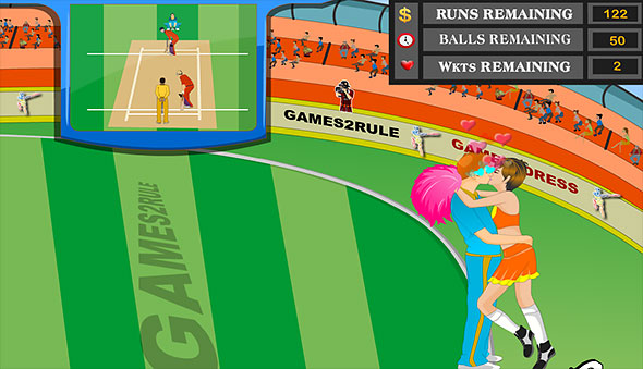 Cricket World Cup Kiss: gameplay