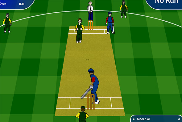 image of CW Cricket 247 gameplay