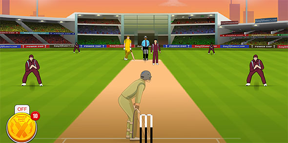 image of Power Cricket gameplay