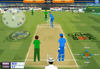 Powerplay Cricket Game Screenshot
