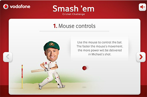 Cricket Smesh 'Em how to play