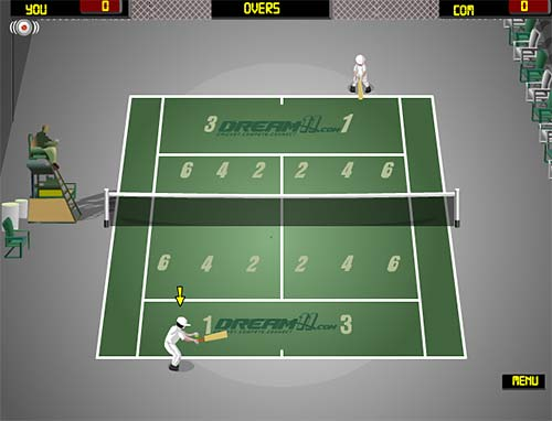 Cricket Tennis